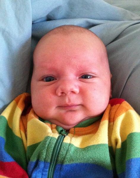 Oliver 1 måned